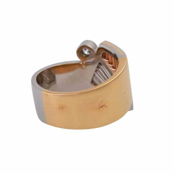 CADEAUX Ring mit Brillant, ca. 0,2 ct, - photo 3