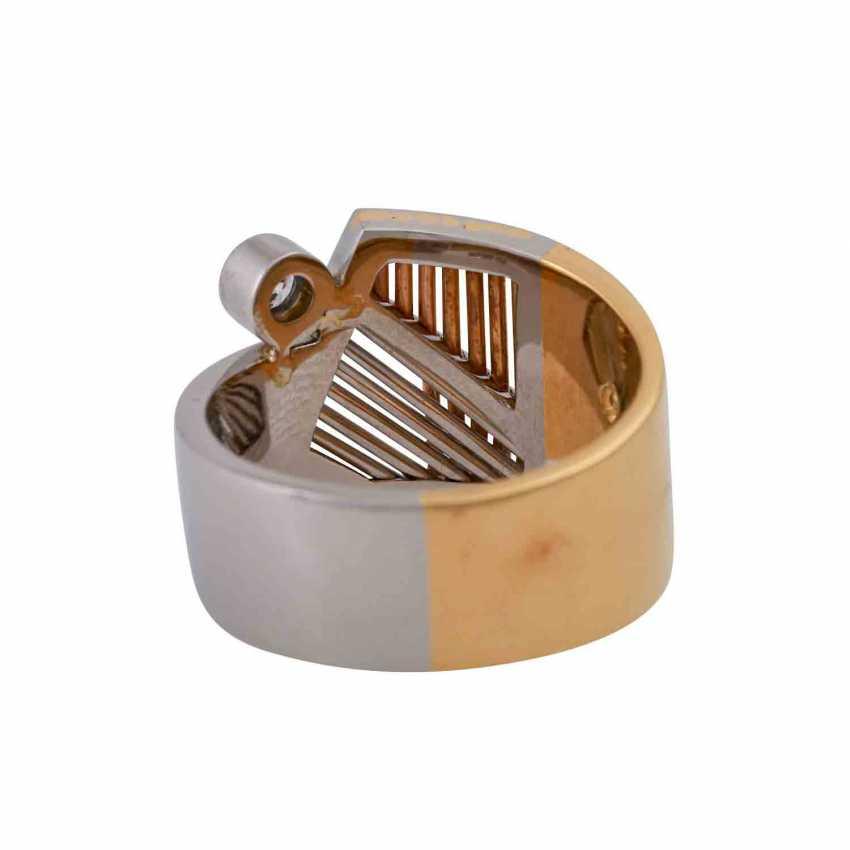 CADEAUX Ring mit Brillant, ca. 0,2 ct, - photo 4
