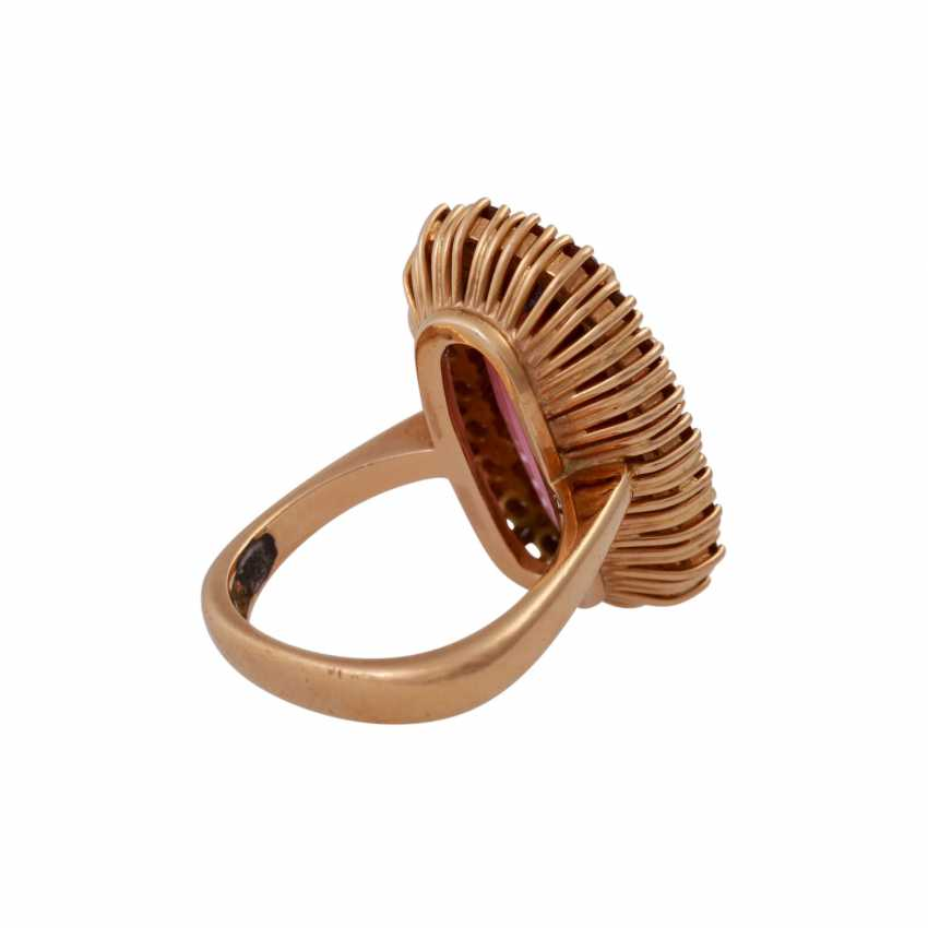 Ring with fine, roséfarbenemTurmalin - photo 3
