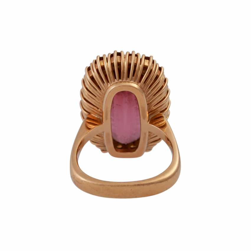 Ring with fine, roséfarbenemTurmalin - photo 4