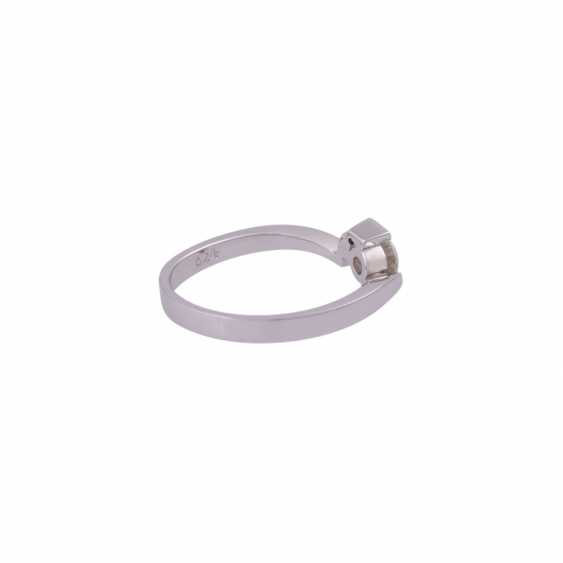 Solitaire ring with brilliant approx 0.24 ct - photo 3