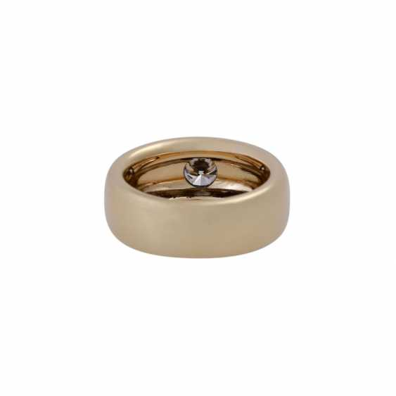 Solitaire ring with brilliant, approximately 0.74 ct - photo 4