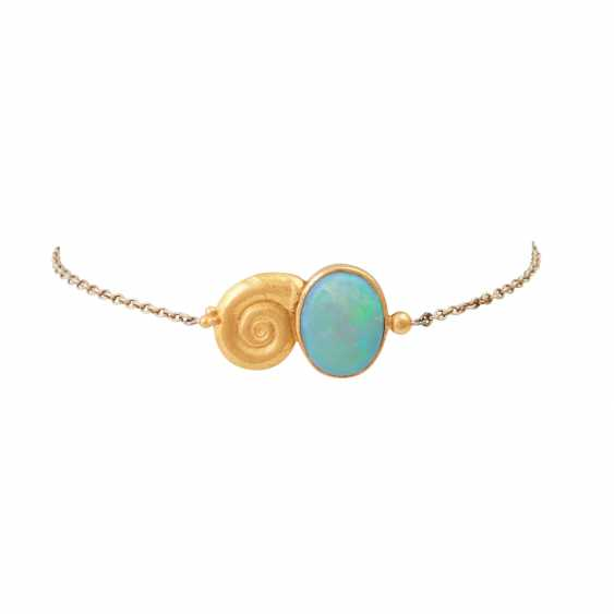 Delicate bracelet with Opal, - photo 1