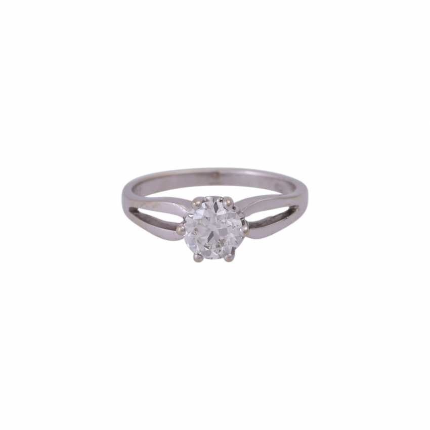 Diamantsolitär Ring ca. 0,92 ct - photo 1