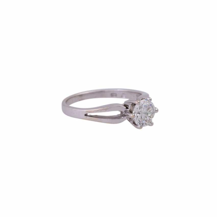 Diamantsolitär Ring ca. 0,92 ct - photo 2