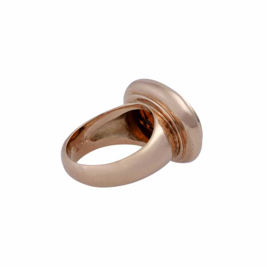 Ring mit Citrin ca. 7 ct, - photo 3