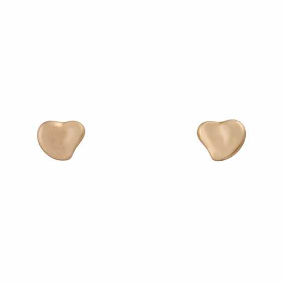 "TIFFANY & CO Pair of stud earrings a ""full heart"" - photo 1"