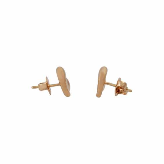 "TIFFANY & CO Pair of stud earrings a ""full heart"" - photo 2"