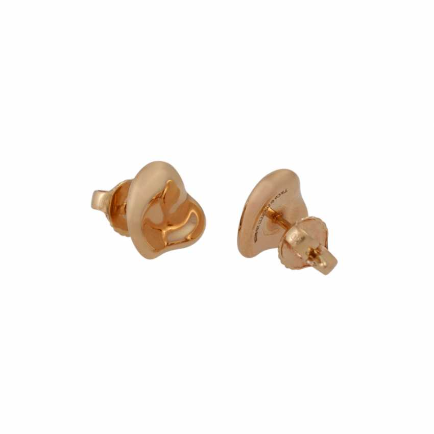 "TIFFANY & CO Pair of stud earrings a ""full heart"" - photo 3"