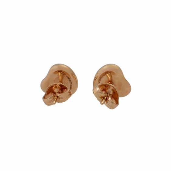 "TIFFANY & CO Pair of stud earrings a ""full heart"" - photo 4"