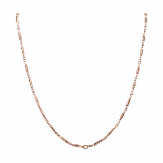 Long gold chain 14K - photo 1