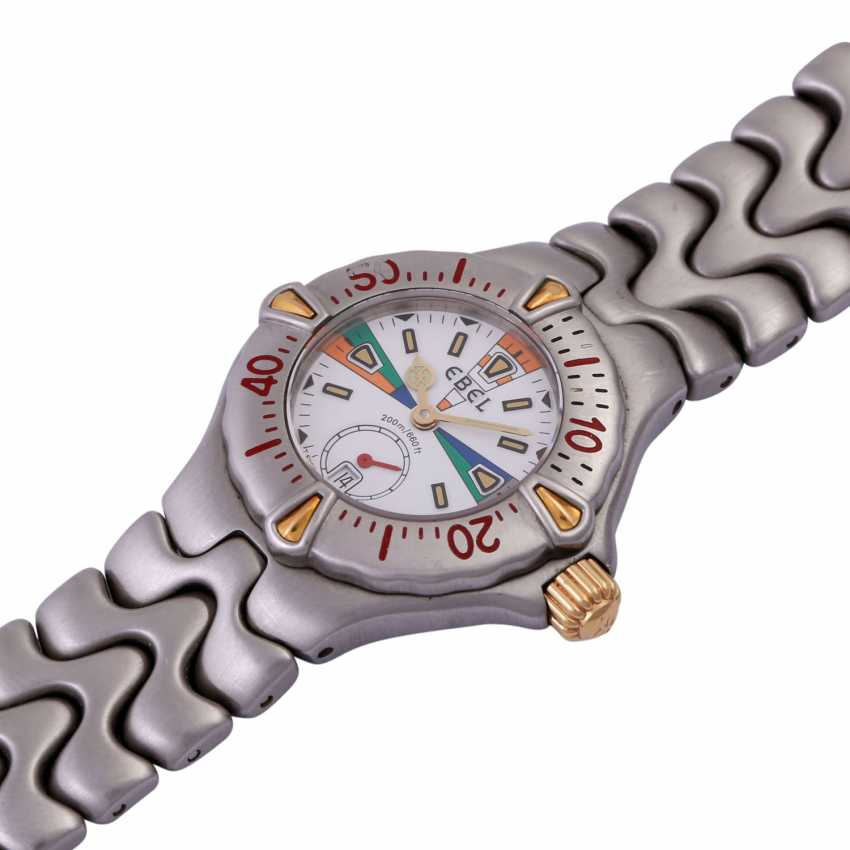 EBEL sport wave wristwatch, Ref. 6012521, CA. 1980/90s. - photo 4