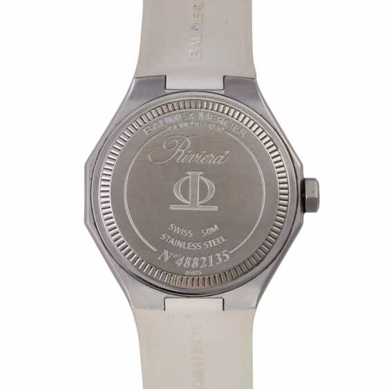 BAUME & MERCIER Riviera Damenuhr, Ref. MOA 08756. - photo 2