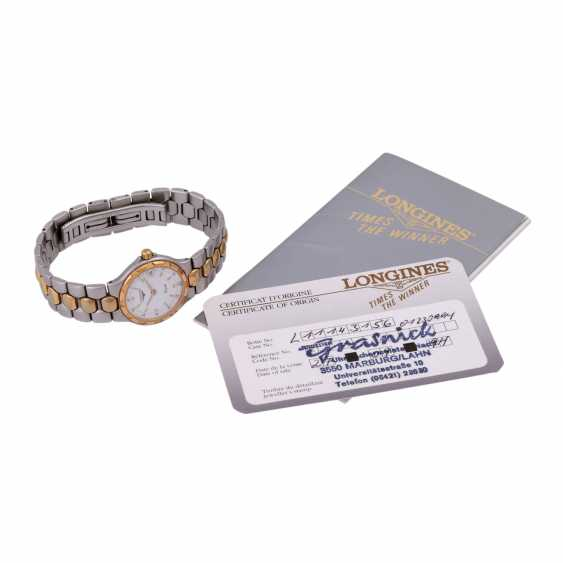 LONGINES Conquest women's watch, Ref. L1.114.3, approximately 1990s. - photo 5