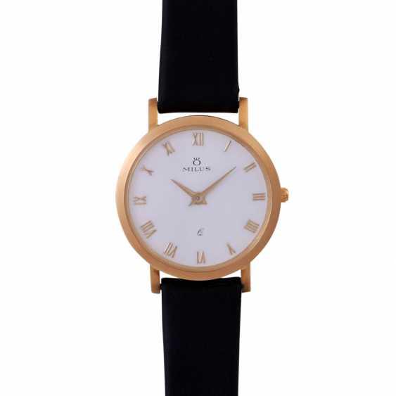 MILUS Classic ladies watch. Case Gold 18K. - photo 1