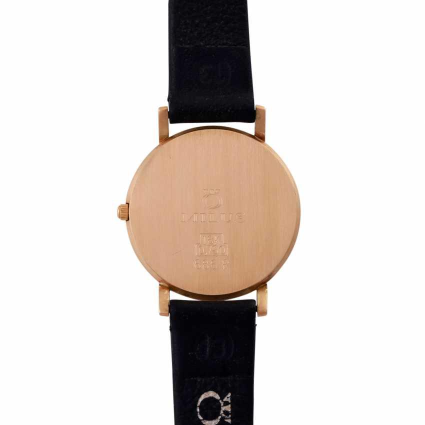 MILUS Classic ladies watch. Case Gold 18K. - photo 2