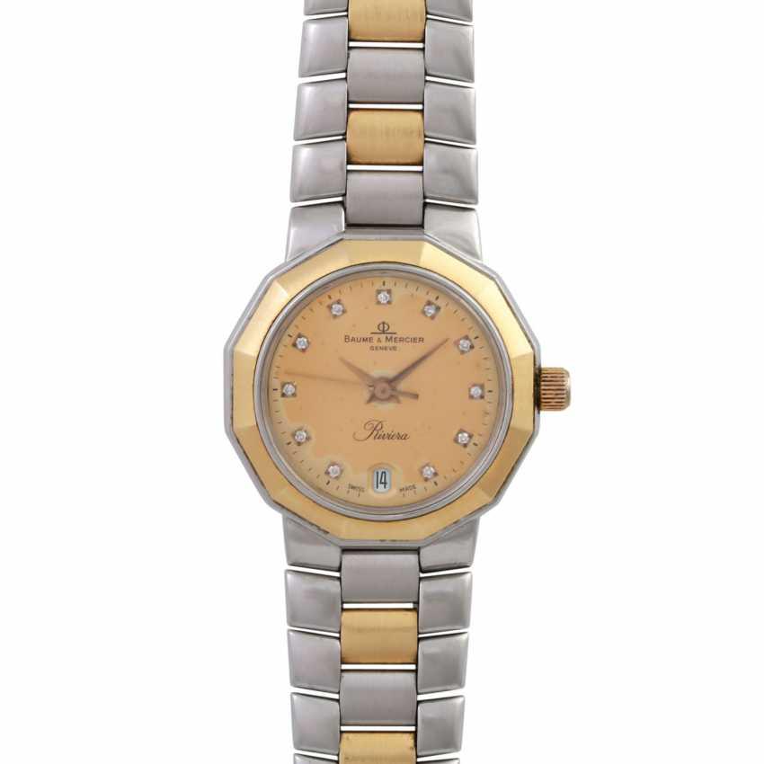 BAUME & MERCIER Riviera women's watch, Ref. 5231.038, CA. 1980/90s. - photo 1