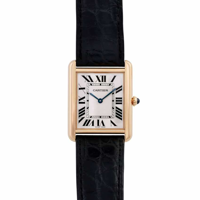 CARTIER Tank Solo Large model watch Ref. W1018855. - photo 1