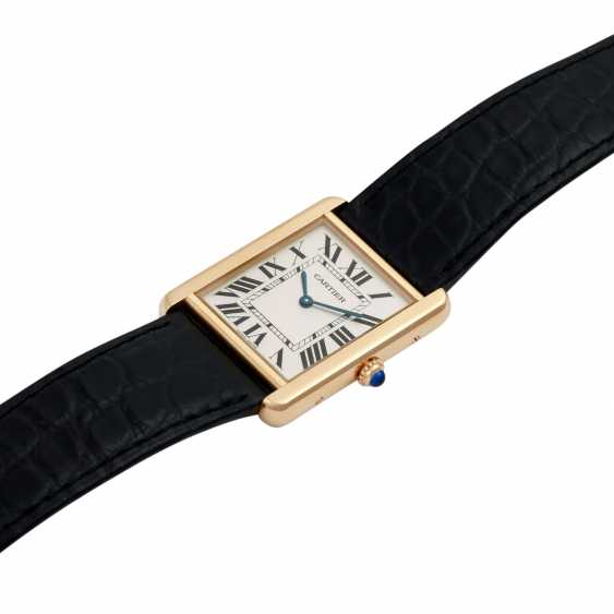 CARTIER Tank Solo Large model watch Ref. W1018855. - photo 4