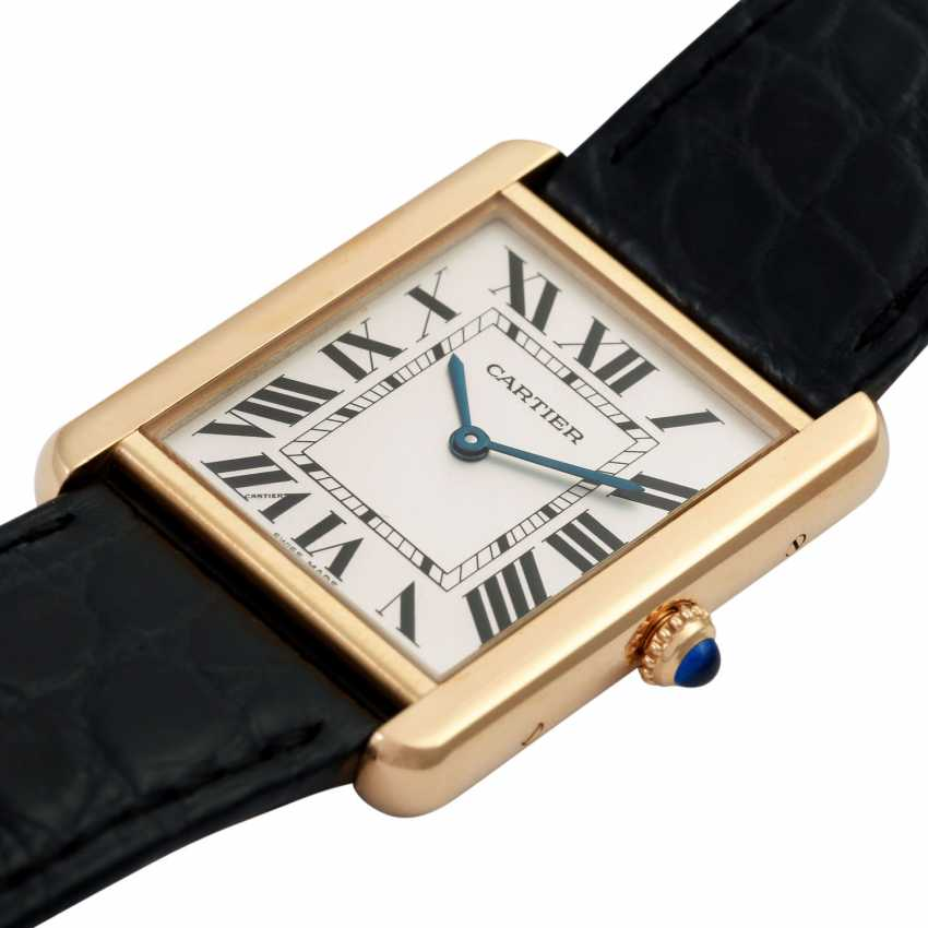 CARTIER Tank Solo Large model watch Ref. W1018855. - photo 5