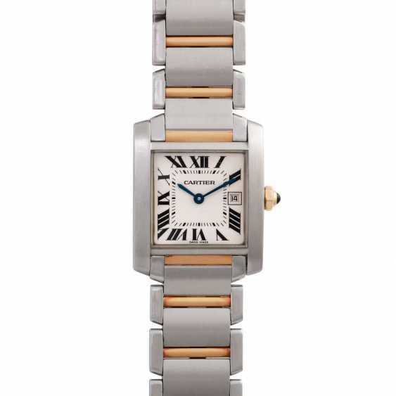 CARTIER Tank Francaise women's watch, Ref. W51012Q4. - photo 1