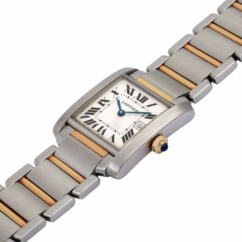 CARTIER Tank Francaise women's watch, Ref. W51012Q4. - photo 4