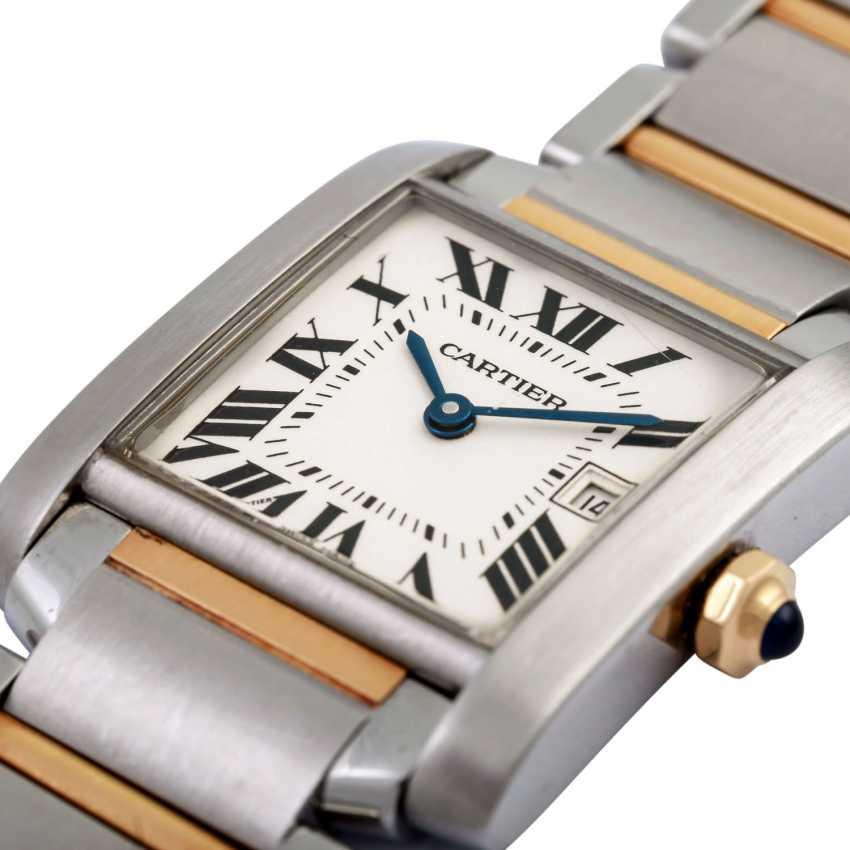 CARTIER Tank Francaise women's watch, Ref. W51012Q4. - photo 5