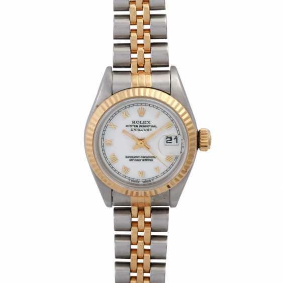 ROLEX Oyster Datejust Damenuhr, Ref. 69173. - photo 1