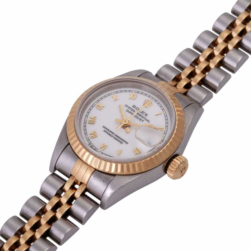 ROLEX Oyster Datejust Damenuhr, Ref. 69173. - photo 3
