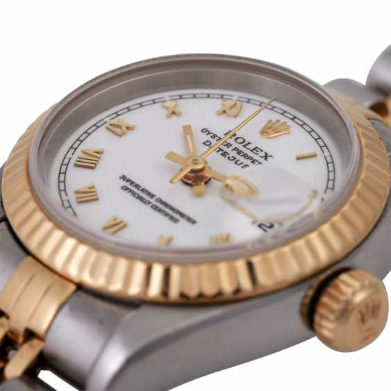 ROLEX Oyster Datejust Damenuhr, Ref. 69173. - photo 5
