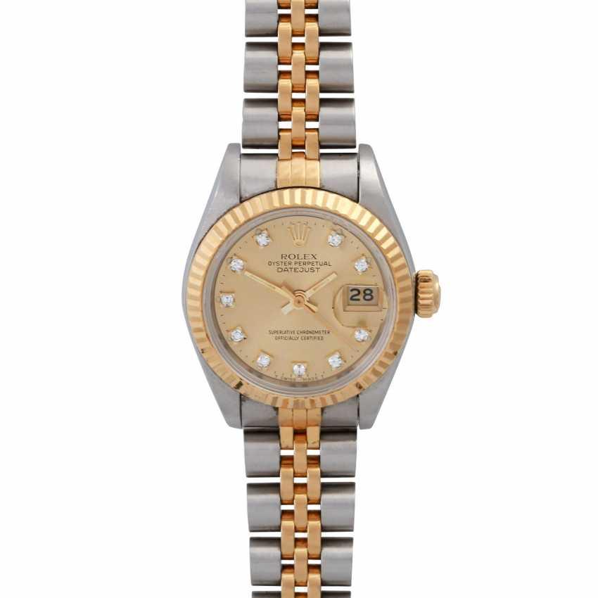 ROLEX Oyster Datejust women's watch, Ref. 69173, CA. 1980/90s. - photo 1