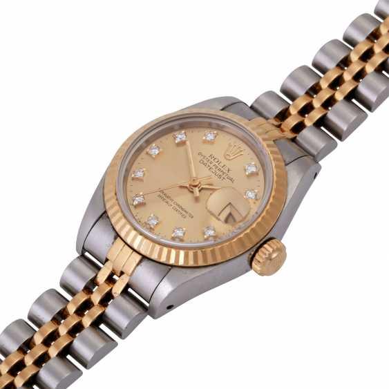 ROLEX Oyster Datejust women's watch, Ref. 69173, CA. 1980/90s. - photo 3