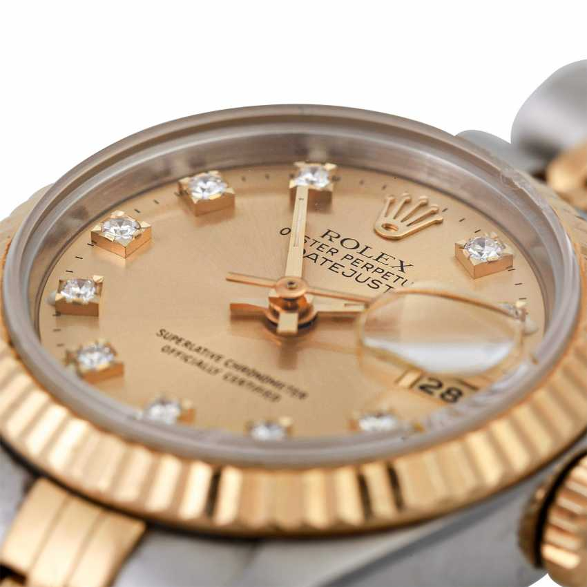 ROLEX Oyster Datejust women's watch, Ref. 69173, CA. 1980/90s. - photo 5
