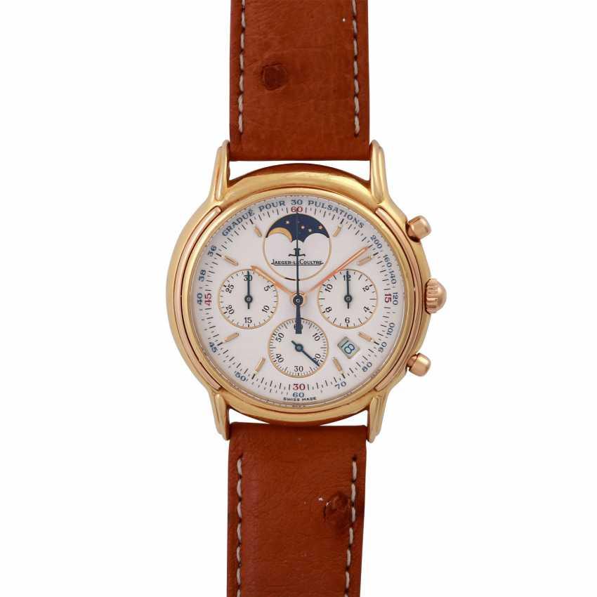 JAEGER LE COULTRE Odysseus Chronograph Mondphase Armbanduhr, Ref. 165.7.3. - photo 1