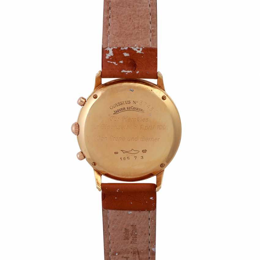 JAEGER LE COULTRE Odysseus Chronograph Mondphase Armbanduhr, Ref. 165.7.3. - photo 2