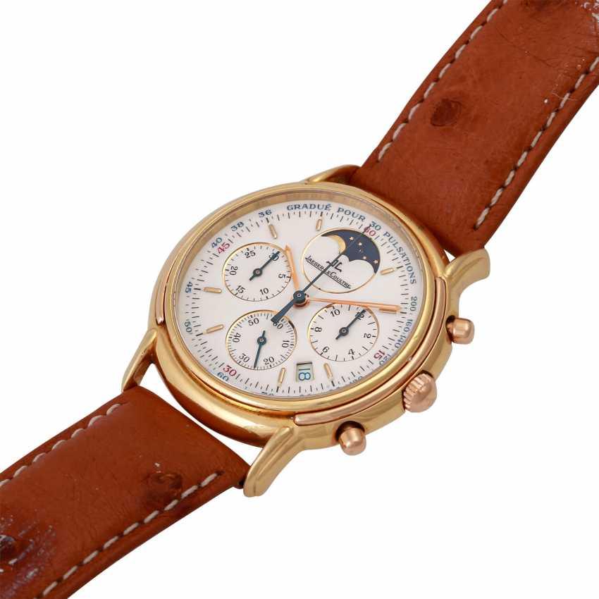 JAEGER LE COULTRE Odysseus Chronograph Mondphase Armbanduhr, Ref. 165.7.3. - photo 3
