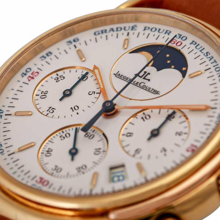 JAEGER LE COULTRE Odysseus Chronograph Mondphase Armbanduhr, Ref. 165.7.3. - photo 5