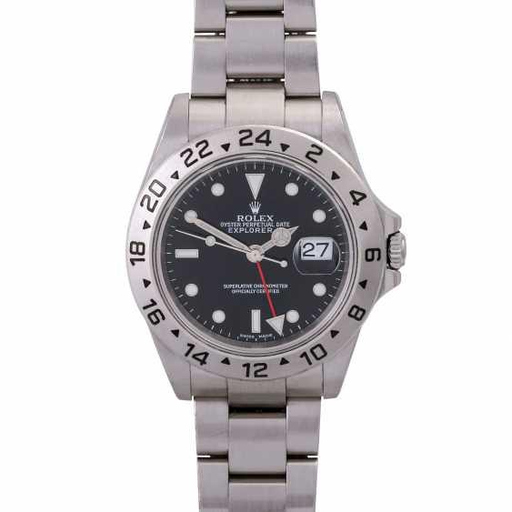 Мужские часы ROLEX Explorer II, Ref. 16570. Нержавеющая сталь. - фото 1
