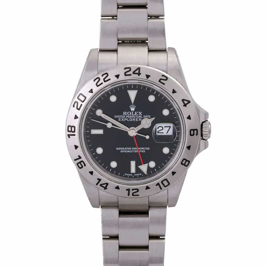 ROLEX Explorer II men's watch, Ref. 16570. Stainless steel. - photo 1