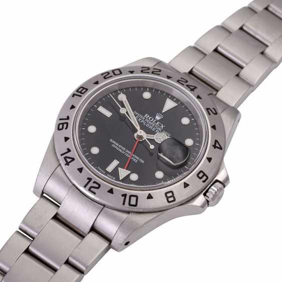 Мужские часы ROLEX Explorer II, Ref. 16570. Нержавеющая сталь. - фото 4