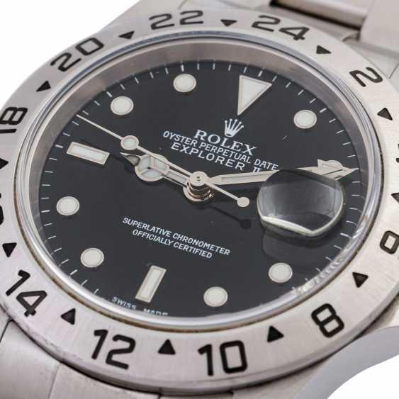 Мужские часы ROLEX Explorer II, Ref. 16570. Нержавеющая сталь. - фото 5