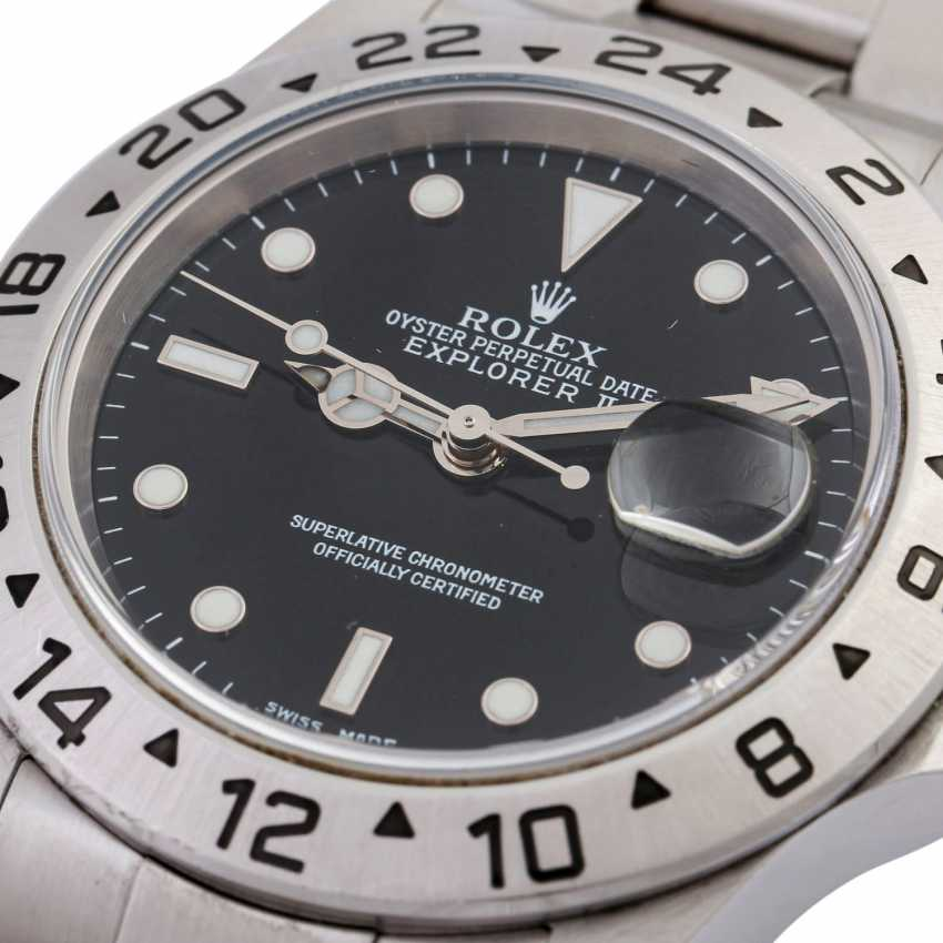ROLEX Explorer II men's watch, Ref. 16570. Stainless steel. - photo 5