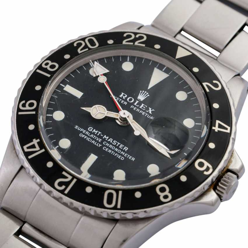 ROLEX GMT Master Vintage mens watch, Ref GMT. 1675, approx. mid-1970s. - photo 5