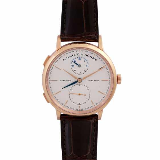 A. LANGE & SÖHNE Saxonia Dual Time men's watch, Ref. 385.032. - photo 4