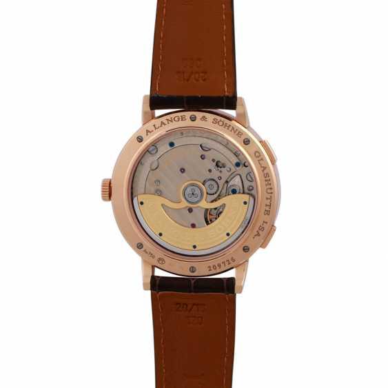 A. LANGE & SÖHNE Saxonia Dual Time men's watch, Ref. 385.032. - photo 5