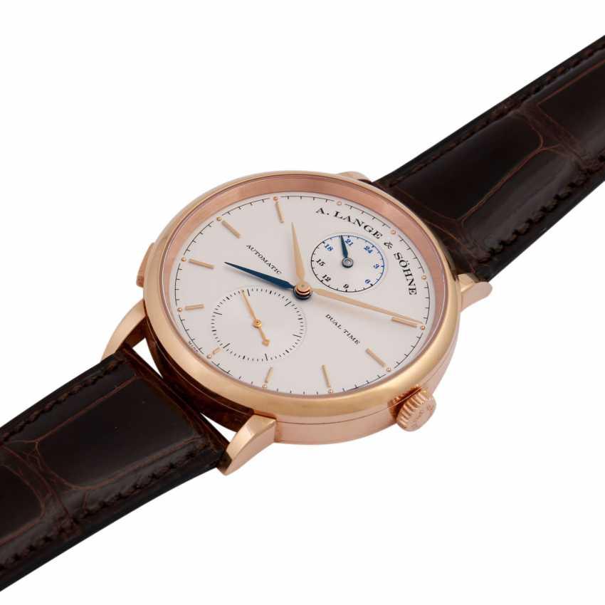 A. LANGE & SÖHNE Saxonia Dual Time men's watch, Ref. 385.032. - photo 1