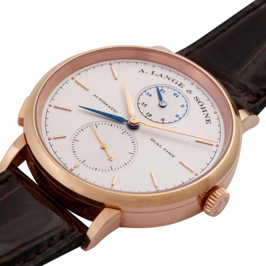 A. LANGE & SÖHNE Saxonia Dual Time men's watch, Ref. 385.032. - photo 2