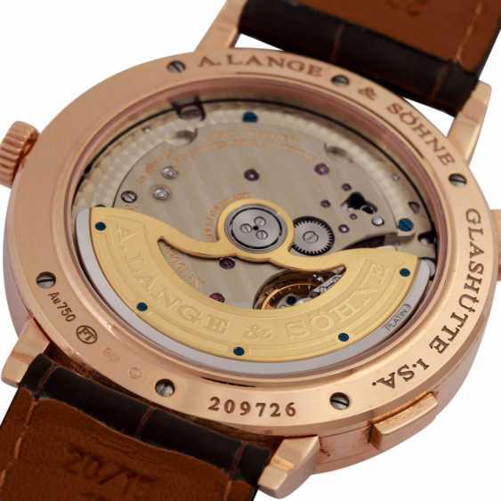 A. LANGE & SÖHNE Saxonia Dual Time men's watch, Ref. 385.032. - photo 3