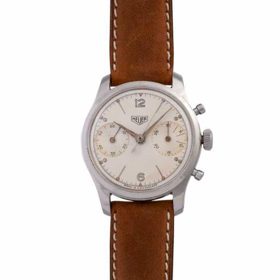 HEUER Pre-Carrera Chronograph men's watch, CA. 1950s. - photo 1