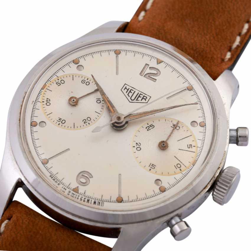 HEUER Pre-Carrera Chronograph men's watch, CA. 1950s. - photo 5